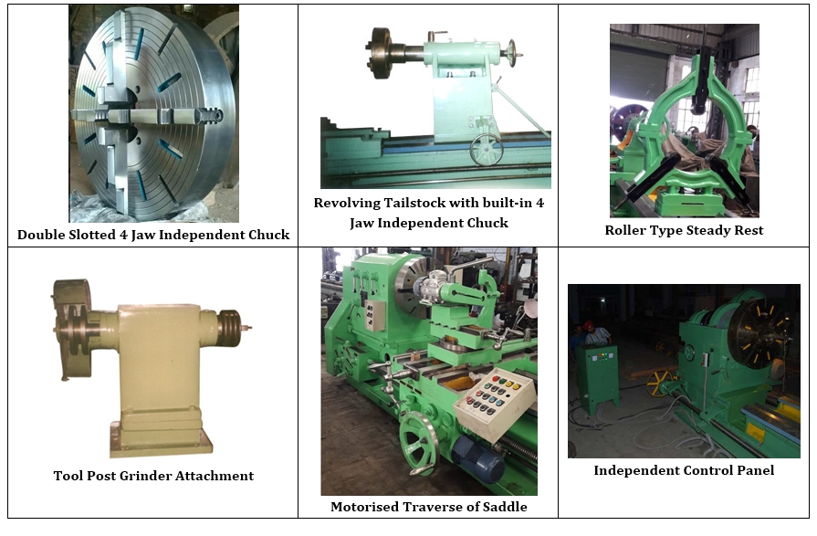 Heavy Duty Geared Lathe Accessories