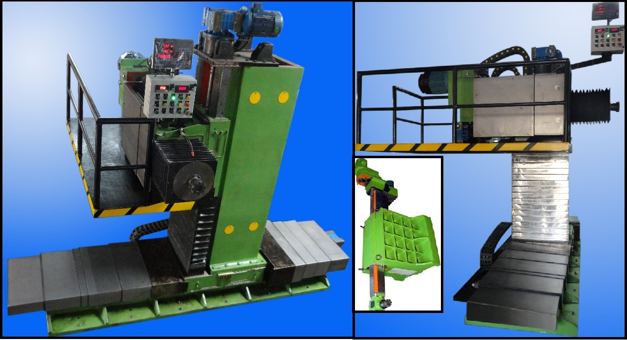 Structural Steel End Milling Machine